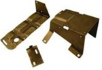 1969-1972 8-Track Radio Mounting Brackets Set