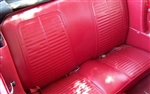 1967 Deluxe Interior Fold-Down Rear Seat Covers