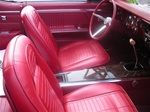 1967 Pre-assembled Bucket Seats (PAS) Deluxe Interior