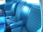 1970 Firebird Rear Seat Covers, Deluxe Comfortweave Interior