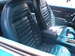 1972 Firebird Front Bucket Seat Covers, Deluxe Interior