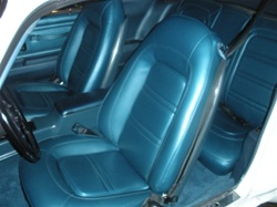 1973 - 1975 Firebird Front Bucket Seat Covers, Deluxe Interior Pair