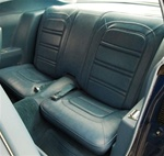 1973 - 1975 Firebird Rear Seat Covers, Deluxe Interior