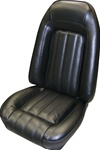 1976 Firebird Front Bucket Seat Covers for Deluxe Interior