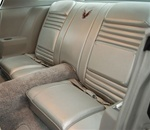 1979 Firebird and Trans Am 10th Anniversary Rear Seat Covers