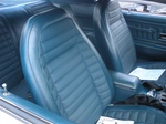1971 Firebird Front Bucket Seat Covers Upholstery for Deluxe Interior