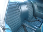 1971 Firebird Rear Seat Covers for Deluxe Interior