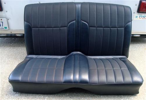 1968 1969 Firebird Deluxe Interior Rear Seat Assembly Original Gm Cover