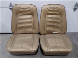 1967 - 1968 Firebird Front Bucket Seats, Pair Original GM Used