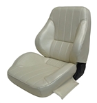 1968 - 1969 Firebird Pro Touring II Reclining Pre-assembled front bucket seats, procar Deluxe interior patter, pair.