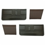 1967 Convertible Front & Rear Door Panel Set