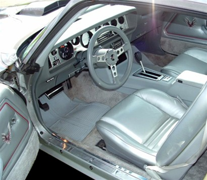 1979 Trans Am 10th Anniversary Or Pace Car Shag Carpet Silver