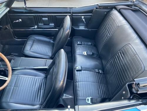 1967 Firebird Master Standard Interior Kit Convertible Stage 3