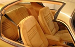 1978 Firebird Basic Interior Kit with Deluxe Custom Cloth Interior & T-Tops