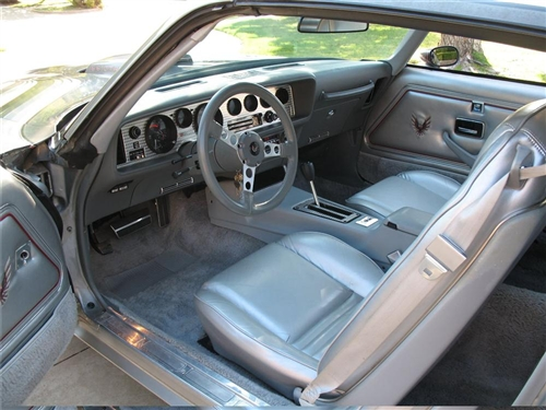 1979 Trans Am 10th Anniversary Silver Interior Kit Stage 1
