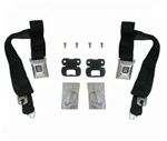 1968 - 1969 Firebird DELUXE Shoulder Seat Belt Set, OE Style Kit