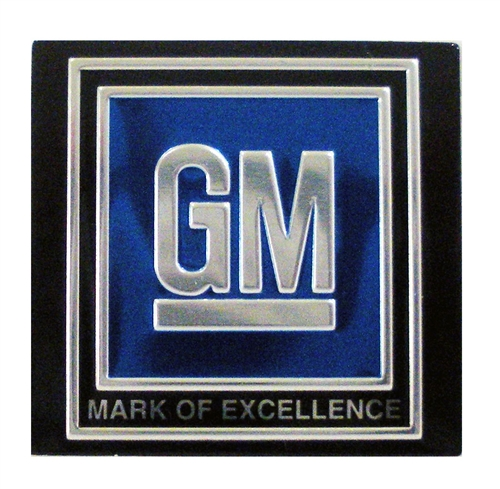 1pr GM Mark Of Excellence Decal NOS