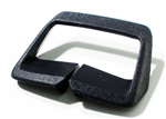 1974 - 1976 Firebird Seat Belt Side Shoulder Guide, Black