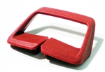 1974 - 1976 Firebird Seat Belt Side Shoulder Guide, Red