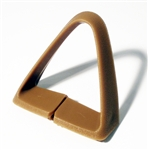 1977 - 1981 Seat Belt Shoulder Guide, Tan