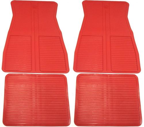 1973 1981 floor mats red for 1979 trans am floor mats