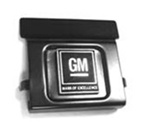"1968-1971 Push Button with ""GM Mark of Excellence"" Emblem"