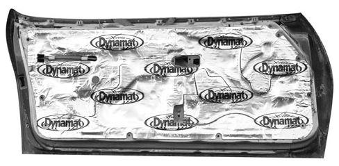 1982 1992 Firebird Door Insulation Dynamat Xtreme