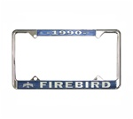 1990 Firebird License Plate Frame