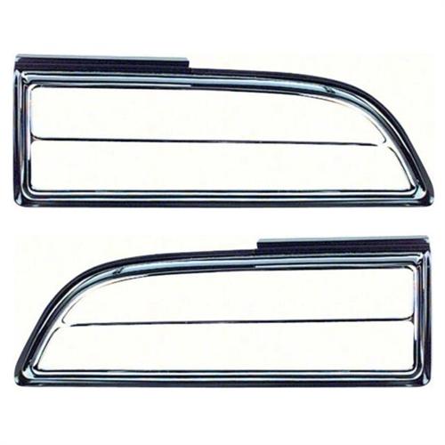 1970 Pontiac Trans Am Firebird Rear Tail Light Bezels
