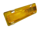 1982 - 1992 Marker Light Lens and Housing Assembly, Front Side, Amber, RH