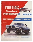 Pontiac Musclecar Performance Book, By Pete McCarthy