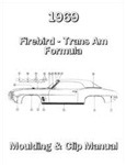 1969 Firebird Molding And Clip Manual