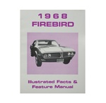 1968 Firebird Illustrated Facts and Feature Manual