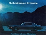 1970 Firebird and Trans Am Color Salesroom Dealer Brochure