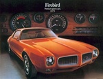 1973 Firebird and Trans Am Color Salesroom Dealer Brochure