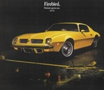 1974 Firebird and Trans Am Color Salesroom Dealer Brochure