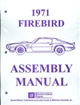 1971 Firebird and Trans Am Assembly Manual