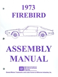 1973 Firebird and Trans Am Assembly Manual