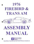 1976 Firebird and Trans Am Assembly Manual