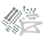 Pontiac Billet Aluminum Power Steering and Alternator Bracket for V-Belts