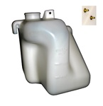 1980 - 1981 Firebird and Trans Am Radiator Coolant Overflow Bottle Tank Jar Assembly