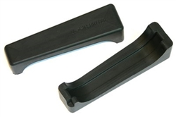 1970 - 1981 Firebird & Trans Am Upper or Lower Radiator Retainer Rubber Mounting Pad for 4 Core Radiators, PAIR