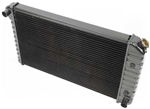 "1970 - 1971 Radiator 4 Core, Automatic, 2-3/4"" Wide Left Side Mount and 3-1/2"" Wide Right Side Mount."