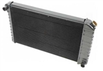 "1972 - 1973 Radiator 4 Core, Manual, 2-3/4"" Wide Left Side Mount and 3-1/2"" Wide Right Side Mount"