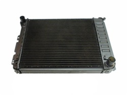 1967 - 1969 Firebird 4 Core Row V8 OE Style Radiator for Automatic, 23 Inch
