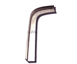 1967 - 1969 Firebird Rear Window Repair Channel, Left Corner