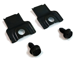 1970 - 1981 Lower Core Support Radiator Stop Brackets and Bolts Set