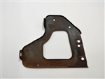1977 - 1978 Firebird Radiator Support Hood Latch Headlight Brace, Used GM