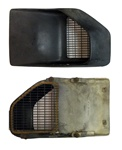 1970 - 1981 Firebird Fender Air Extractor Vent Assembly LH, Original GM Used