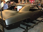 1969 Firebird or Trans Am Assembled Coupe Body Shell